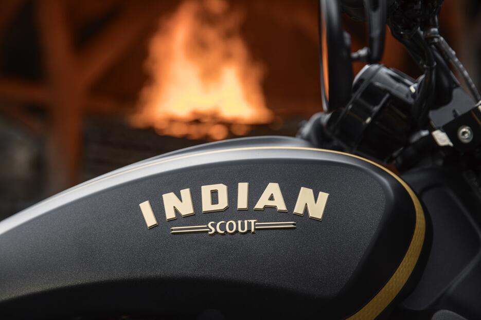 Indian Scout Bobber 'Jack Daniels'