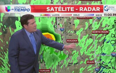 Pronóstico del tiempo para este fin de semana en Miami