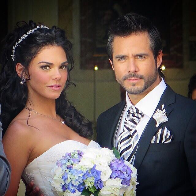 Livia Brito y José Ron, inseparables