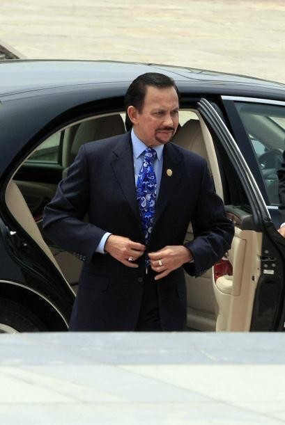 Brunei:El Sultan Hassanal Bolkiah es conocido por su enorme colección de...