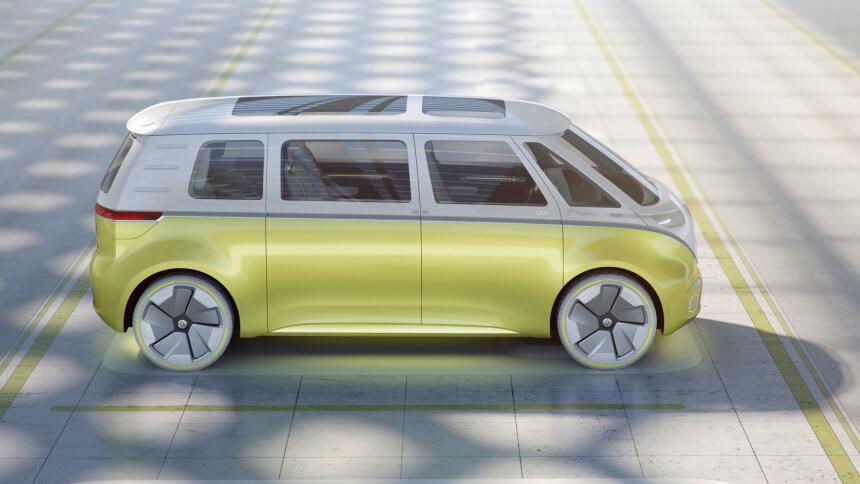 Volkswagen revive el célebre Microbus con la llegada del I.D. Buzz Concept