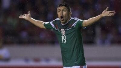 Oribe Peralta, seleccionado mexicano de fútbol.