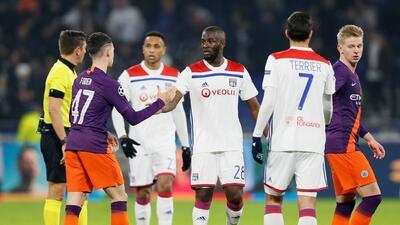 En fotos: Manchester City y Olympique Lyon empatan 2-2 en la UEFA Champions League