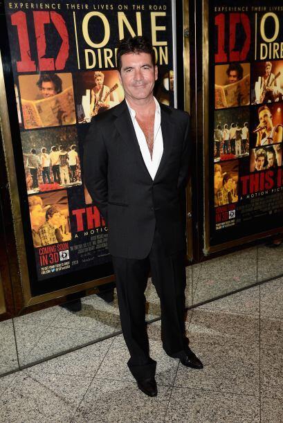 Tenemos que reconocer que Simon Cowell logró verse bastante gal&a...