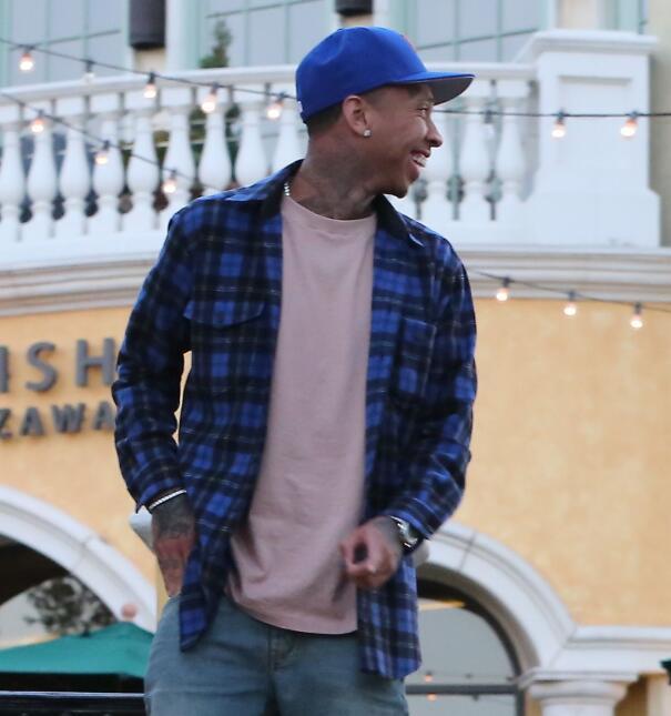 Kylie Jenner en paseo con Tyga y King Cairo