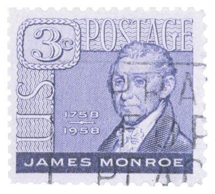 #5- James Monroe. Mandato desde 4 de marzo de 1817 4 de marzo de 1825