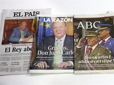 El lunes España fue remecida por una sorpresiva noticia: la abdic...