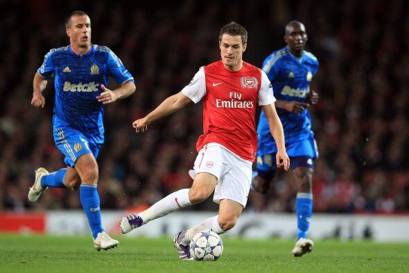 Dos semanas más tarde, el 19 de octubre, el jugador le anotó al Marsella...