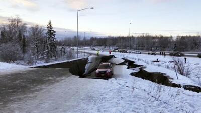 Terremoto de magnitud 7.0 sacude a la ciudad de Anchorage en Alaska