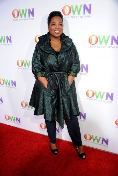 El imperio de Oprah, además de su programa, incluye revistas y ha...