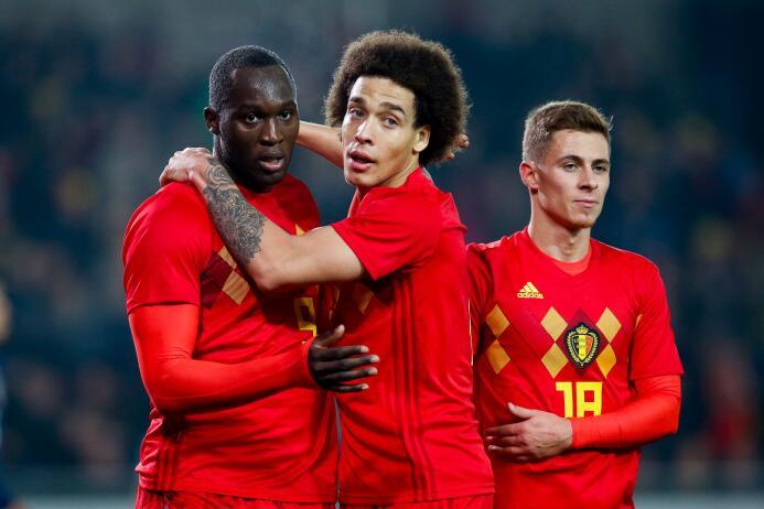5. Bélgica (UEFA) - 1,325 puntos
