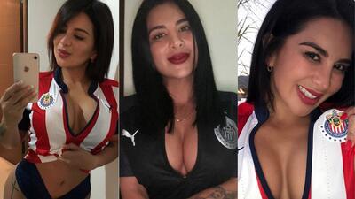 Marzhe Ponce de León, orgullosa fan de las Chivas Rayadas de Guadalajara