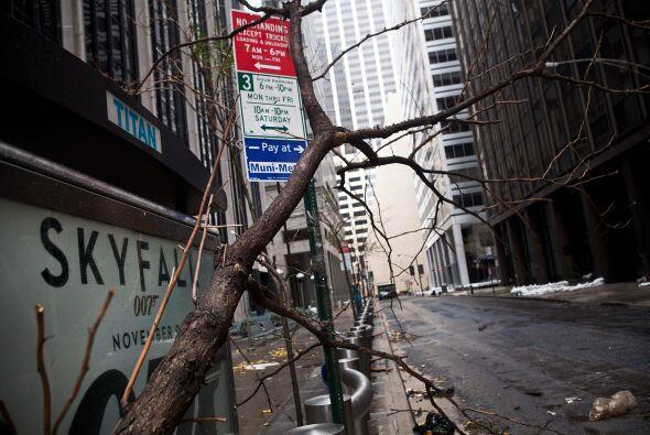 Daños Sandy en Nueva York