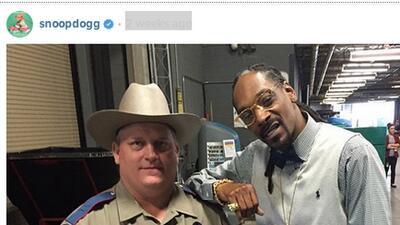 Snoop Dogg y 'su' Texas State Trooper