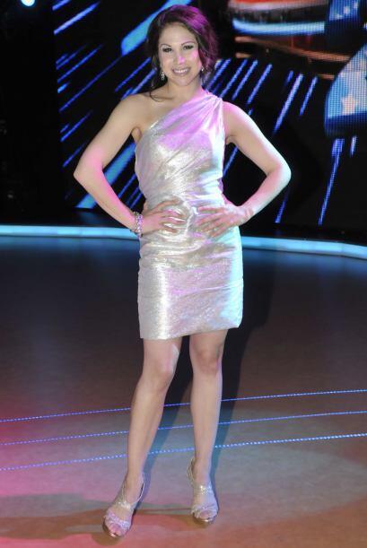 La bailarina de Broadway va de gala cada noche.