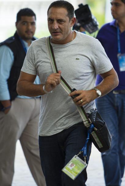 Pablo Marini, ex DT del Atlante y ahora con Mineros de Zacatecas, asisti...