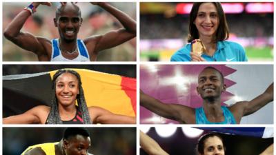 Mo Farah lidera la lista de nominados y nominadas al Atleta del Año de la IAAF