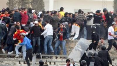Hay alerta por los reiterados hechos violentos en el fútbol sudamericano...