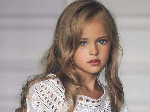 Ella es Kristina Pimenova, una súper modelo de tan sólo nu...