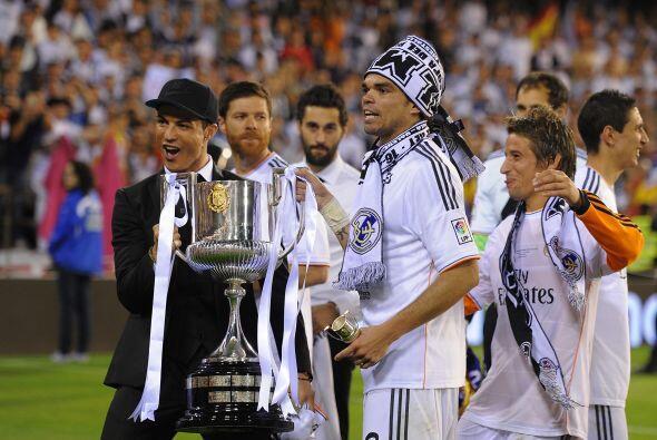 El conjunto madridista fue Campeón de la Copa del Rey de esta temporada...