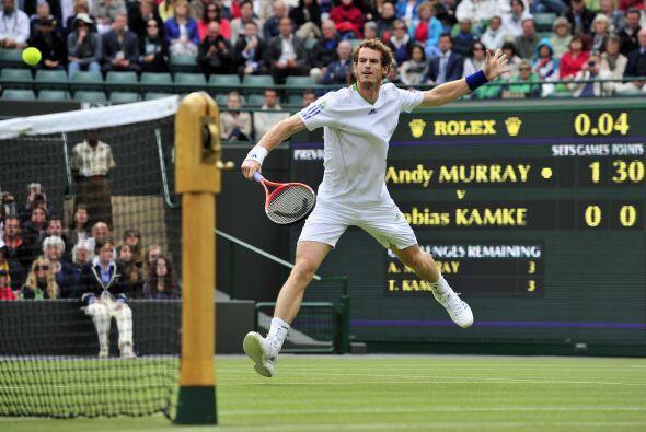 Murray, semifinalista en las dos últimas ediciones de Wimbledon, mantien...