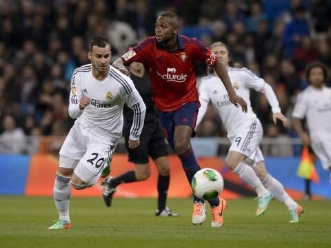 Real Madrid enfrentó al Osasuna en el estadio Santiago Bernab&eac...