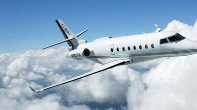 Así es el avión privado que compró Antonio Banderas por 5.4 millones de dólares