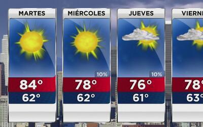 A partir de este martes comienza una ligera disminución de la temperatur...