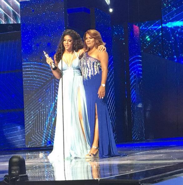 Francisca Lachapel en Premios Soberano 2017