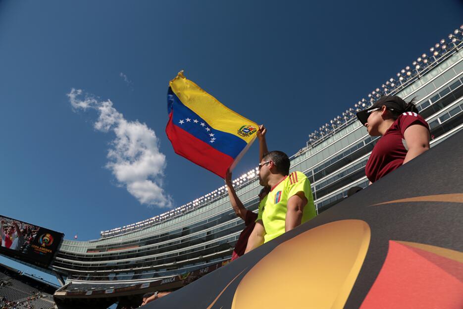 La selección de Venezuela venció a su similar de Jamaica en su primer pa...