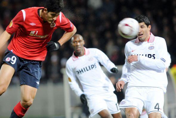 Más tarde, Tulio puso el 2-0 y los locales se sentían con la victoria.