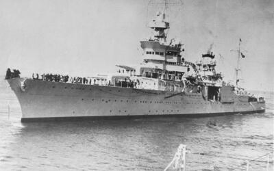 El USS Indianapolis, hundido hace 72 años