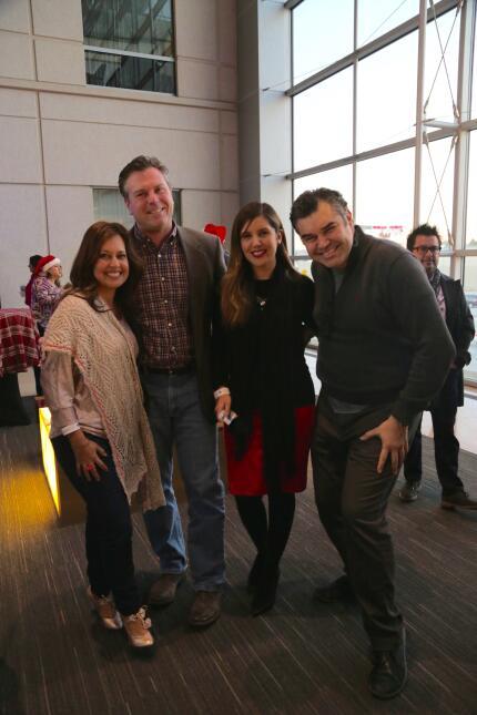 ¡Univision 34, K-LOVE, Más Variedad y LA 101.9 se unieron para celebrar...