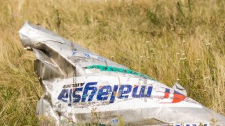 El informe preliminar sobre el avión caído en Ucrania, determinó que fue...