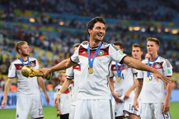 Mats Hummels fue uno de los mejores defensas de Alemania en la obtención...