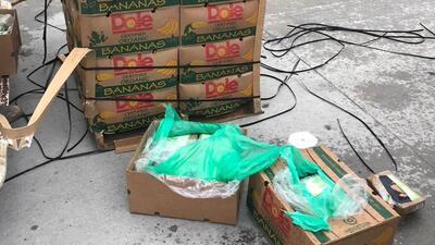 Encuentran cocaína en un cargamento de bananas donada al sistema penitenciario de Texas