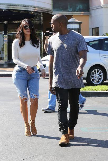 Los jeans de Kim no se ganaron las mejores críticas.
