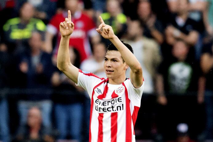 El PSV Eindhoven (Hirving Lozano) visitará al NAC Breda por la jornada...