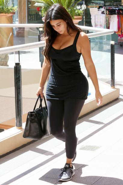 Bellezas como Kim Kardashian recuperaron su figura después del embarazo,...
