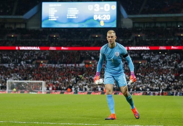 El portero inglés Joe Hart saldría nuevamente del Manchester City a prés...