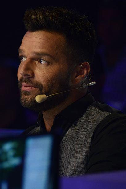 Por su lado, nuestro juez invitado, Ricky Martin, estuvo muy atento a la...