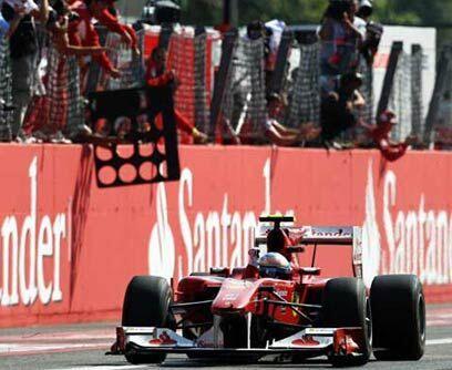 GP de ITALIA, 12 de septiembreFernando Alonso ganó el Gran Premio de Ita...