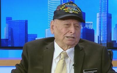 Historia de lucha y heroísmo de un veterano de la Segunda Guerra Mundial...