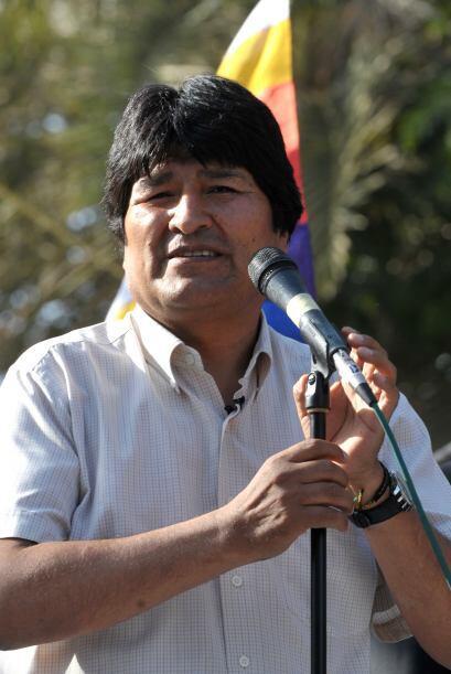 Evo Morales prometió 'con seguridad el gobierno nacional va a entregar c...