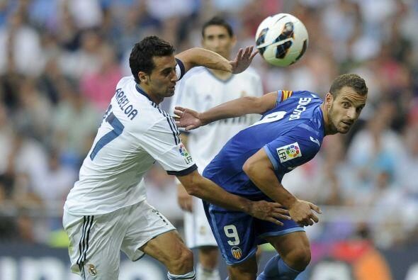 Pero el equipo valenciano supo aguantar los siguiente embates blancos y...