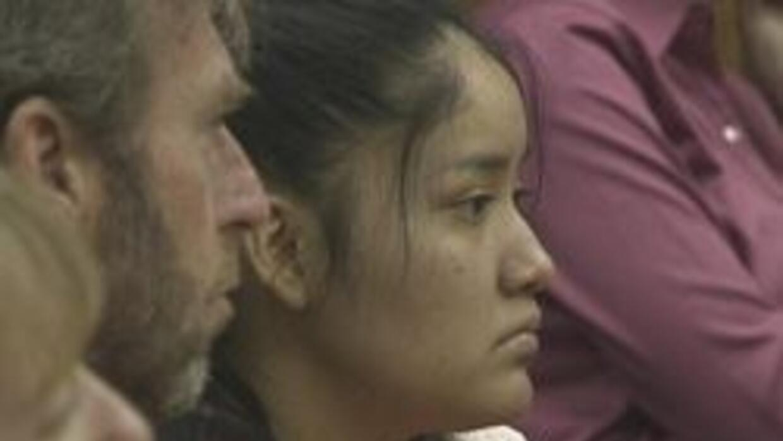 Galerika Harrison esperando su sentencia