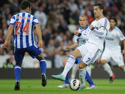El Real Madrid encaró su partido de la sexta jornada de la Liga e...