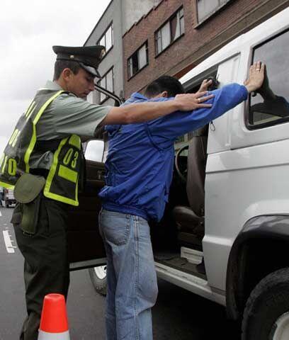 En un fin de semana, 549 conductores ebrios en Colombia549 conductores e...