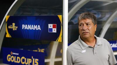 El entrenador de Panamá lamentó las sanciones contra su equipo.