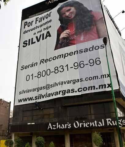 Silvia Vargas, de 18 años, fue secuestrada el 10 de septiembre de...
